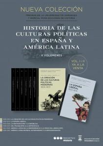 Cartel promocional coleccion Culturas Politicas (2014-12-11)