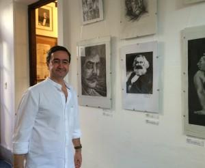 Juan Pro en el CeDInCI, diciembre 2014