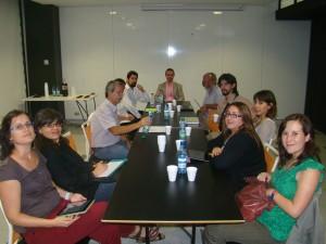 Reunión de trabajo del grupo Statebglat en Santiago de Chile, noviembre 2011