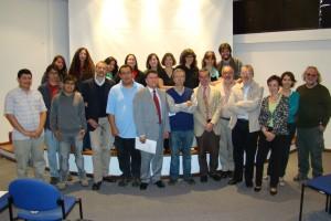 """Workshop """"Justicia, violencia y construcción estatal"""", Pontificia Universidad Católica del Ecuador, Quito, 2012."""
